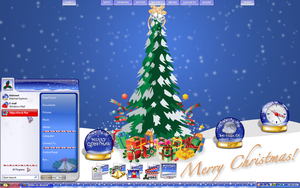 Christmas Time Desktop by a666a