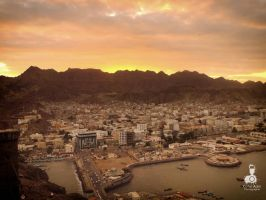 Sunset in Aden by CoderAdenPhotographe