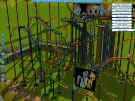 MLP Roller Coaster Tycoon3 by mayosia