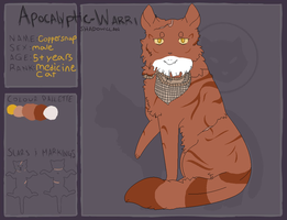 [AW | Coppersnap | Medicine cat] by painkrc99