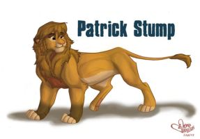 adult Patrick Stump lion by Emo-Hellion