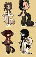 More adopts by x-Orange-Fireworks-x