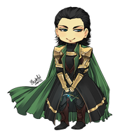 Loki by Sesshoumaru-lover