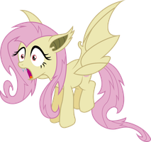 Flutterbat admiring her reflection by dasprid