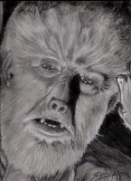 LC Jr. as The Wolfman by PaulSpatola