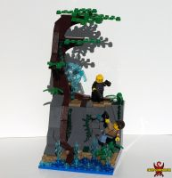LEGO Uncharted 2 Nate vs. Lazarevic Vignette by Saber-Scorpion