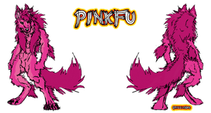 PinkFuvuzewa by Grizzled-Dog