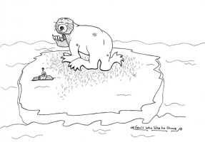 Seals who like to shave by Critterinthedryer