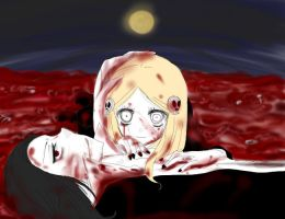 Night of dead girl and vampire by alicerock