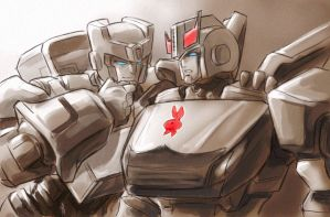 Kup and Prowl by Aiuke