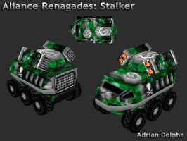 Alliance Renegades: Stalker by DelphaDesign