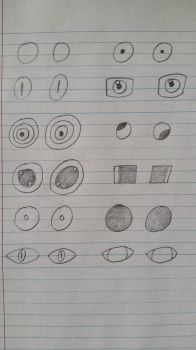 A Dozen Pairs of Eyes by PIZZAPIE97