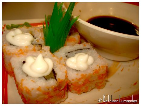California Maki by katiepinkie