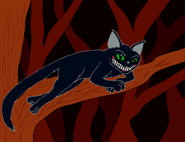 Cheshire Cat by mortimermcmirestinks