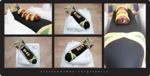 Cool Runnings Cake by elainewhy