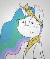 Celestia has seen some things by MacDaddyZak