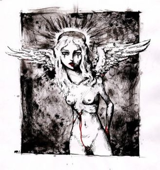 Just another fallen angel by Marquerite