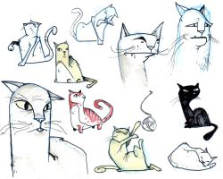felines by YourFathersMustache