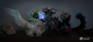 Magic Mephisto and Cat Shamans by LimitlessEndeavours