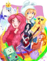 Adventure Time by Kompot-san
