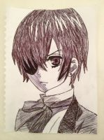 Ciel Phantomhive by headfirstforiero