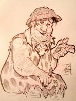 Fred Flintstone by basakward