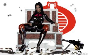 The Baroness Sits by artguyjoe