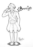 Ink comm - Revolutionary America by Horu-chan