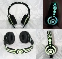 TRON Legacy TMA-1 DJ HEadphone by DJ-JFunk