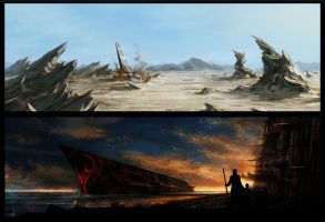 A crash ..and a ship? by Westling