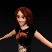 3D Girl by Tyler007