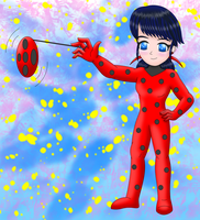 Miraculous Ladybug Unmasked by MikariStar