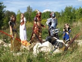 Legends of the Azeroth by Kaitishi
