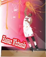 Hassan Whiteside M H by char0077