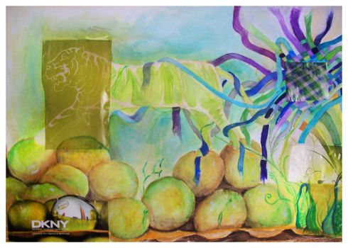 Walking on Apples by May56ART