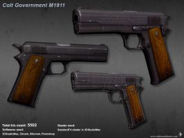 Colt M1911 'Black Army' by artenauta