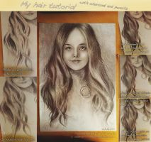Realistic hair tutorial by realm-of-lost-minds