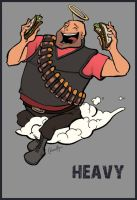 TF2 Heavy by Liabra