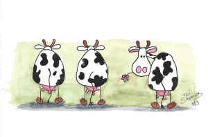 3 Cows by TaliShemes