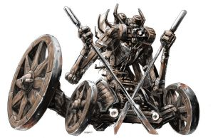 Road bot warrior... by AxelMedellin