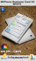 Miphone Business Card V3 White by flashdo