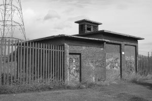 Derelict electricity station by Brianetta