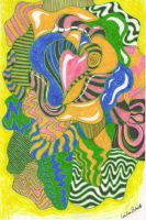 Psychedelic Pserpents by Cecilia-Schmitt