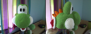 Yoshi Hat 2 WIP by Psychodelicon