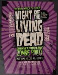 Flyer: Zombie Party by stuckwithpins