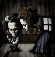 sweeney todd by gabrio76