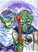 Namekian Gothic by ilex9