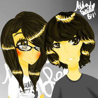 .:Lea And Ronald:. by koolkatashley10