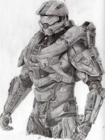 Master Chief by pencillus