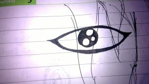 eye of an unfinished person by maurice1997